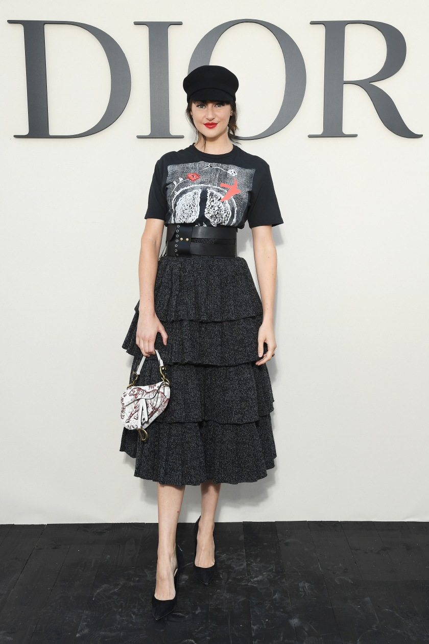 Christian Dior : Photocall - Paris Fashion Week Womenswear Spring/Summer 2019